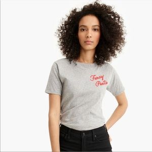 J. Crew Fancy Pants Tee